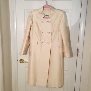 ILGWU Vintage 1960's cream coat